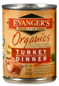 Evanger's Organics Turkey with Potato and Carrots